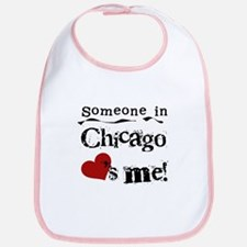 Chicago Loves Me Bib