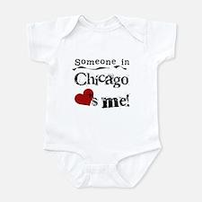 Chicago Loves Me Infant Bodysuit