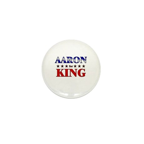 AARON for king Mini Button (10 pack)