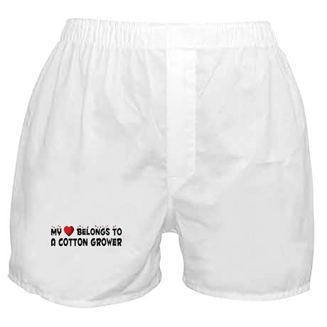 Belongs To A Cotton Grower Boxer Shorts