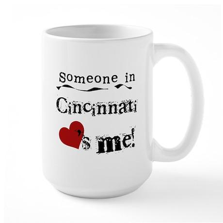 Cincinnati Loves Me Large Mug