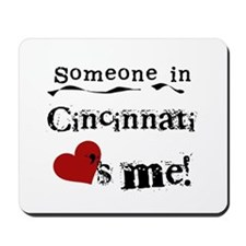 Cincinnati Loves Me Mousepad