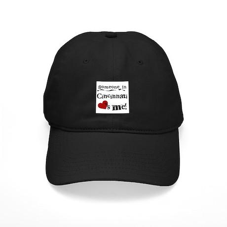 Cincinnati Loves Me Black Cap