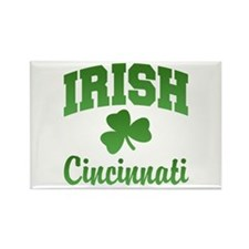 Cincinnati Irish Rectangle Magnet