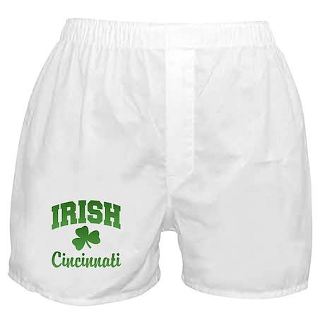 Cincinnati Irish Boxer Shorts