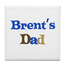 Brent's Dad Tile Coaster