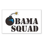 Obama Squad Rectangle Sticker
