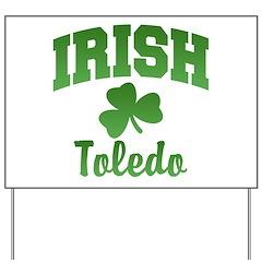 Toledo Irish Yard Sign