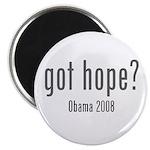 Got Hope? Obama 2008 Magnet