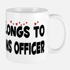 Belongs To A Corrections Officer Mug