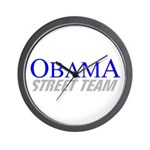 Obama Street Team Wall Clock