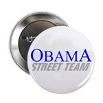 "Obama Street Team 2.25"" Button"