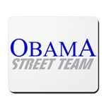 Obama Street Team Mousepad