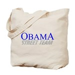 Obama Street Team Tote Bag