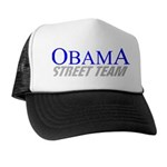 Obama Street Team Trucker Hat