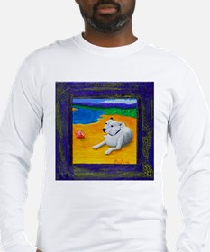Unique Beach dog Long Sleeve T-Shirt