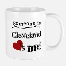 Cleveland Loves Me Small Small Mug