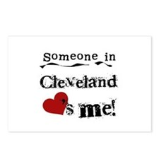 Cleveland Loves Me Postcards (Package of 8)