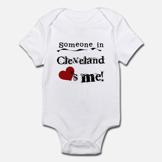 Cleveland Loves Me Infant Bodysuit