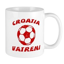 Croatia Soccer Hrvatska Nogomet Mugs