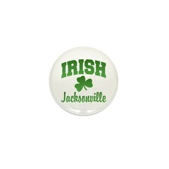 Jacksonville Irish Mini Button (100 pack)