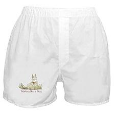 Working Wheaten Scottish Terr Boxer Shorts