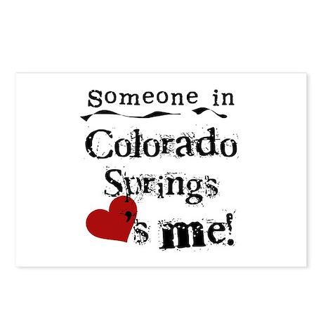 Colorado Springs Postcards (Package of 8)