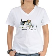Fox Terrier Party Animal Shirt