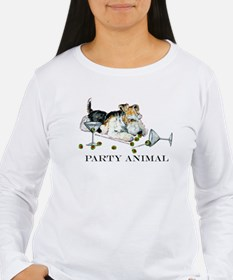 Fox Terrier Party Animal T-Shirt