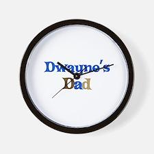 Dwayne's Dad Wall Clock