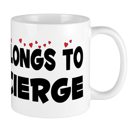 Belongs To A Concierge Mug