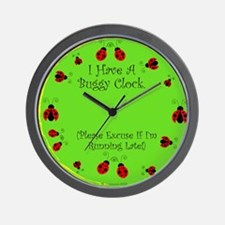 Running Late/ Please Excuse Wall Clock