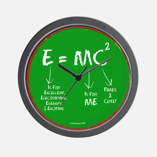 Super Genius- Wall Clock