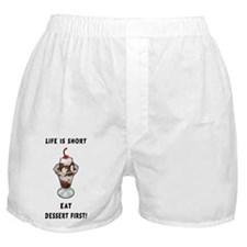 Life Is Short Boxer Shorts