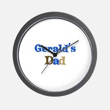 Gerald's Dad Wall Clock