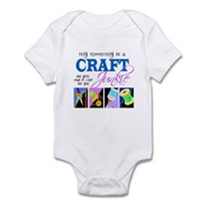 My Mommy is a Craft Junkie Infant Bodysuit