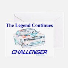 """""""The 2008 Dodge Challenger"""" Greeting Car"""