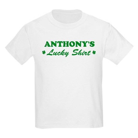 ANTHONY - lucky shirt Kids Light T-Shirt