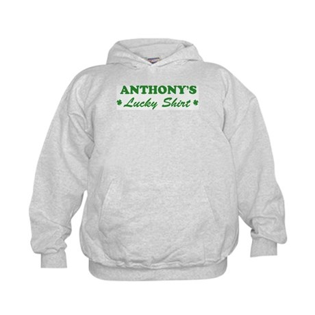 ANTHONY - lucky shirt Kids Hoodie