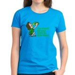 Tell your mom to slow down Women's Dark T-Shirt