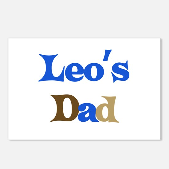 Leo's Dad Postcards (Package of 8)
