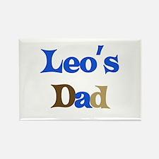 Leo's Dad Rectangle Magnet