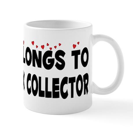 Belongs To A Comic Book Collector Mug