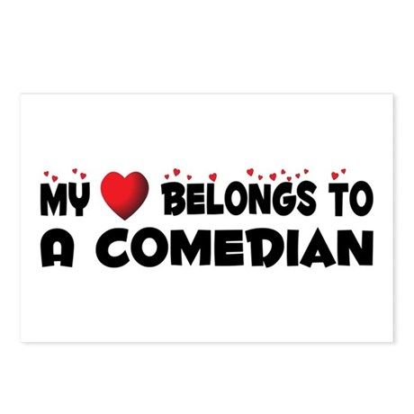 Belongs To A Comedian Postcards (Package of 8)