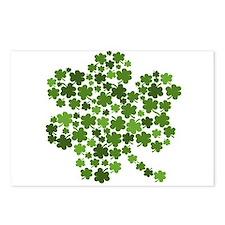 Irish Shamrocks in a Shamrock Postcards (Package o
