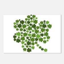 Irish Shamrocks in a Shamrock Postcards (Package o
