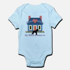 Home Is Black Russian Terrier Infant Bodysuit