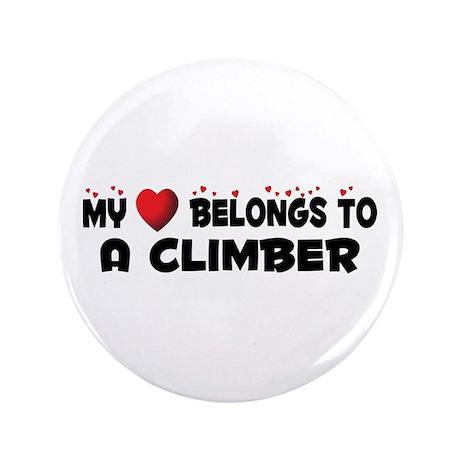 """Belongs To A Climber 3.5"""" Button (100 pack)"""