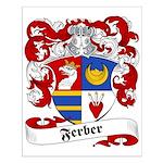 Ferber Family Crest Small Poster