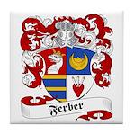 Ferber Family Crest Tile Coaster